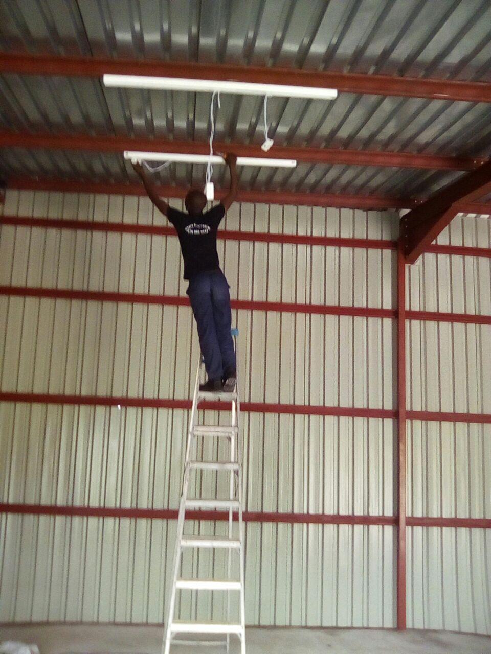 New installation at Mankwe orbit college,Workshop